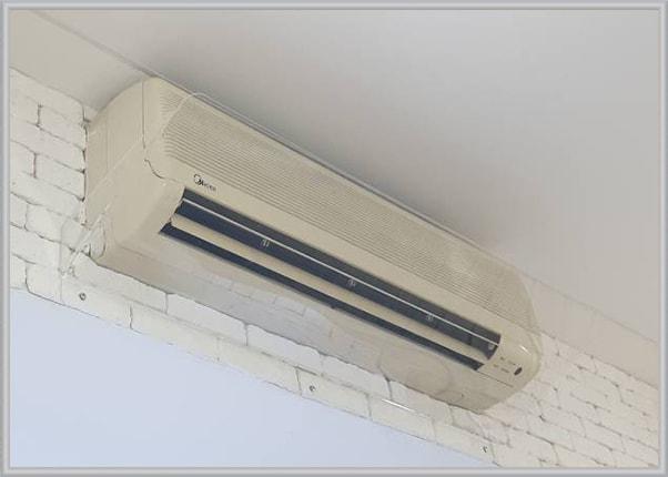 Дефлектор - захисний екран для кондиціонера із прозорого акрила, оргскла