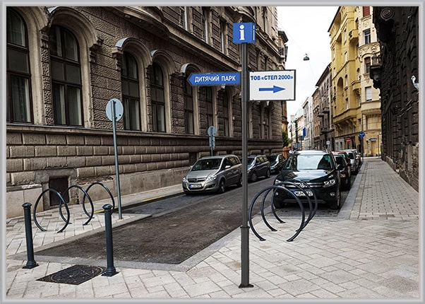 Міська система орієнтування - туристичний інформаційний вказівник