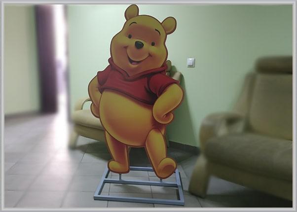 Ростовая фигура, боди стенд персонажа из мультфильма - Винни Пух