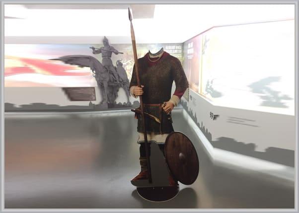 Изготовление ростовой фигуры для фотографирования в музее