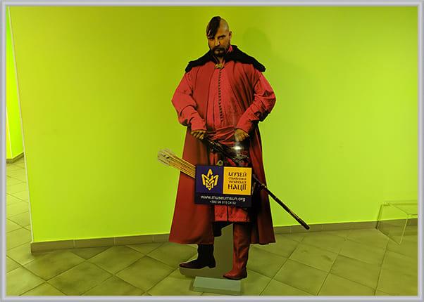 Ростовая фигура Козак для музея