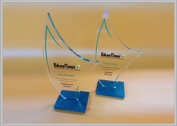Прозрачные акриловые кубки с нанесением изображения - сувениры для бизнес партнеров