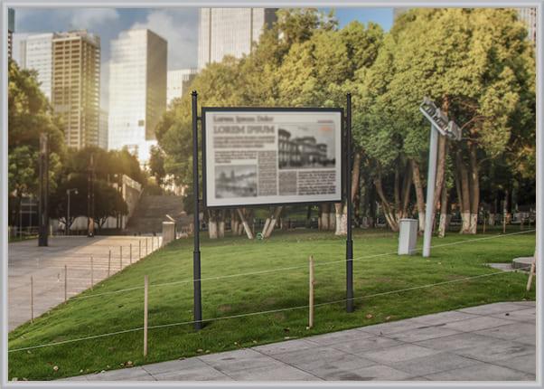 Виготовлення вуличного інформаційного стенда