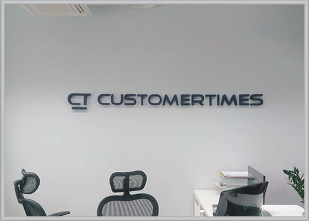 Логотип для офиса - изготовление интерьерной вывески