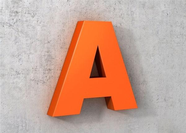 Об'ємні світлові букви