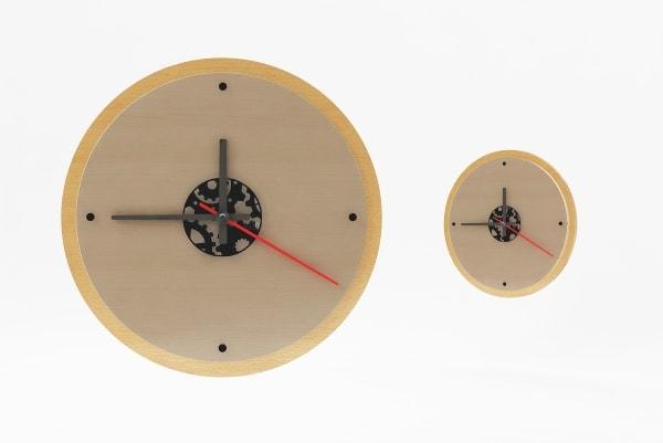 Характеристики, розміри настінного годинника з логотипом КР-5532