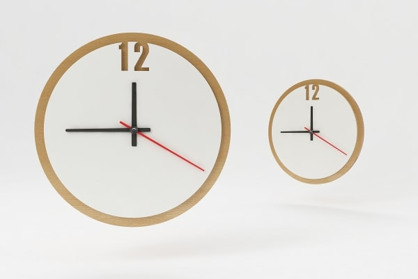 Характеристики, розміри настінного годинника з логотипом КР-5533