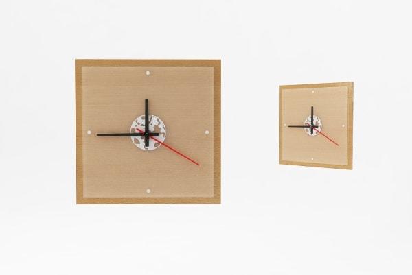Характеристики, розміри настінного годинника з логотипом КВ-5535