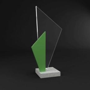 Кубок, статуетка із пластика, акрила