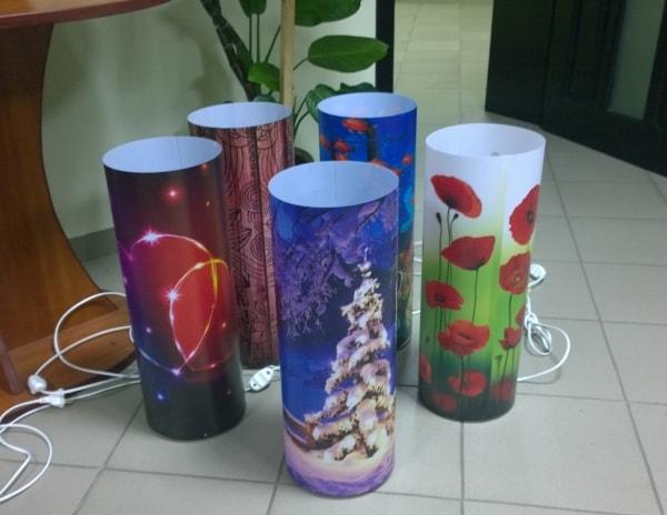 Дизайнерські світильники круглої форми Flami-RGB