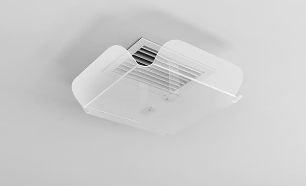 Защитная накладка для потолочного диффузора ZET-004 150*200