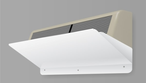 Захисний екран для кондиціонера ZET-002