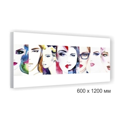 Фото, картина на холсте, полотне 600x1200