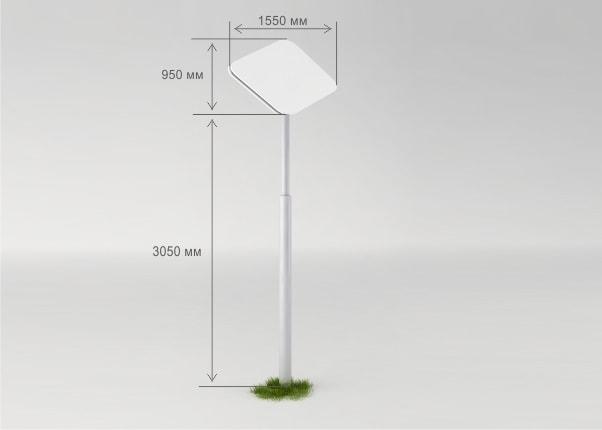 Информационная, навигационная, рекламная стела, пилон MST-03
