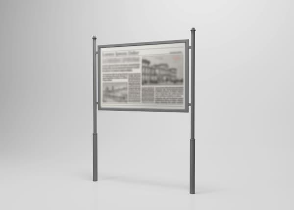 Вуличний інформаційний туристичний стенд SU-003