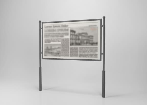 Вуличний інформаційний туристичний стенд SU-004
