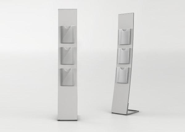 Рекламная выставочная стойка, стенд для полиграфии STEND02-FL-871