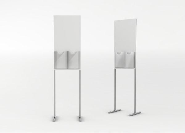 Рекламная выставочная стойка, стенд для полиграфии STEND08-FL-2137