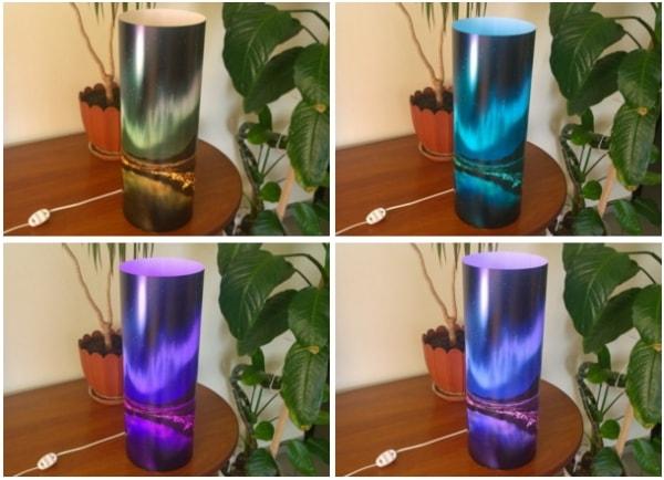Світильник з функцією зміни кольору підсвітки, RGB модуль